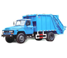Compression Garbage Truck